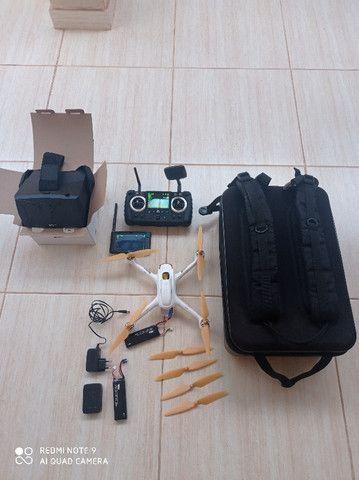 Drone Hubsan H501s Pro aeromodelo bateria - Foto 2