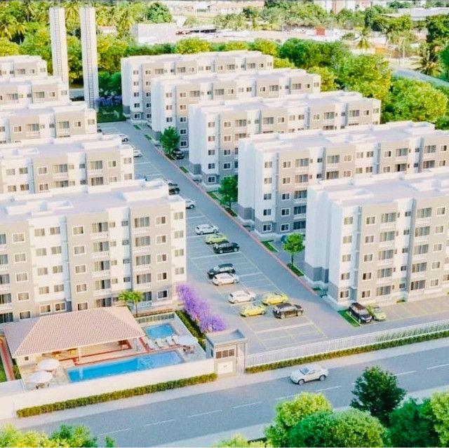 WS apartamentos com 2 quartos 2 banheiros com entrada parcelada em ate 60x - Foto 3