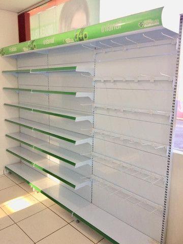 Prateleira pra Farmácia / Gondôlas - Foto 5