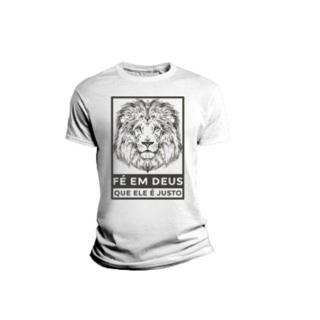 Camiseta Sublimada Frases E Estampas Legal E Confortável - Foto 2
