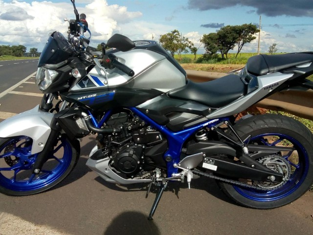 Yamaha Mt-03 321/ABS 2017 - Perfeito para Financiar - Parcelas baratas - Foto 5
