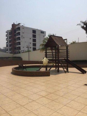 Apartamento com 3 dormitórios para alugar, 109 m² por R$ 2.000,00/mês - Quilombo - Cuiabá/ - Foto 16