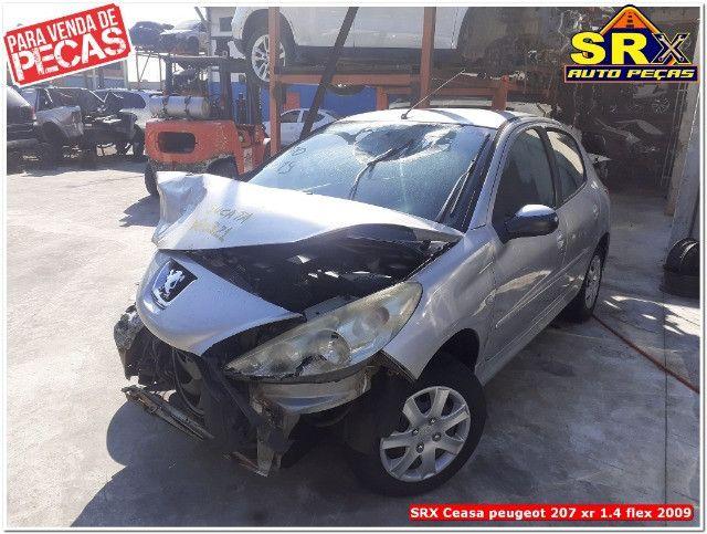 Sucata Peugeot 207 xr 1.4 flex 2009  - Foto 5