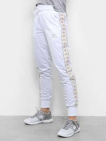 Calça kappa branca M