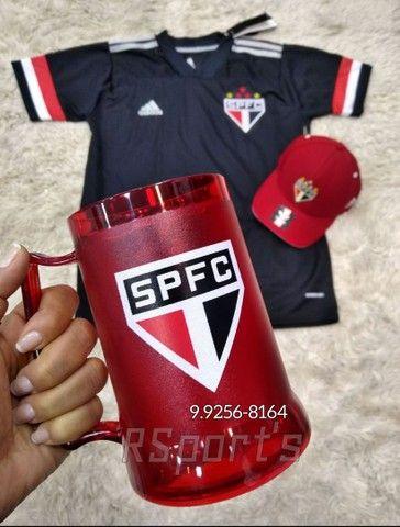 Kit do São Paulo camisa boné e caneca - Foto 2