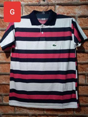 Camisas Gola Pólo: (P) (M) (G) e (GG) - Foto 4