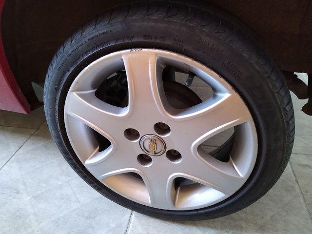 Roda Astra aro 15 GM 4x100 com pneu - Foto 3