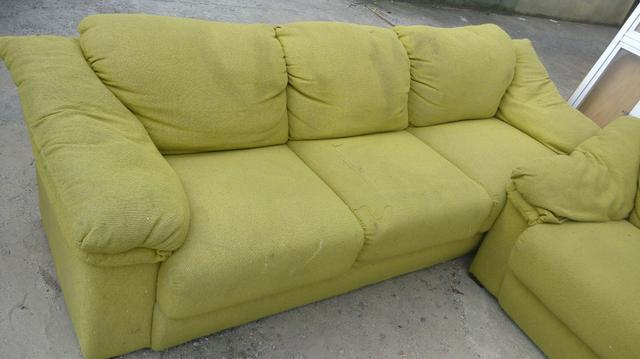 Jogo de sofa de 3 e 2 lugares super confortável macio da moveis campo largo
