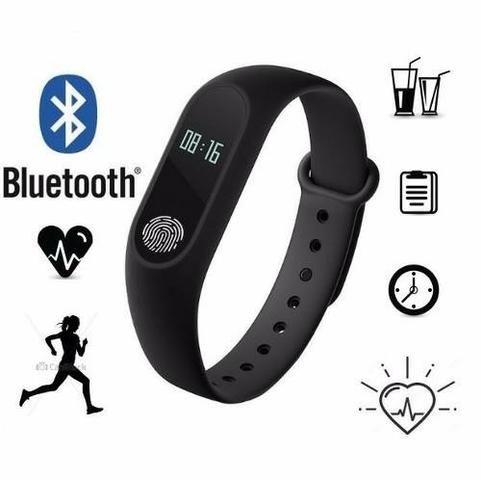 Pulseira Medidor Cardíaco Smart M2 Bluetooth