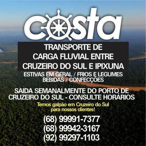 Transporte Fluvial Cruzeiro do Sul/Ipixuna
