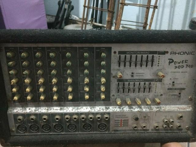 Mesa amplificador