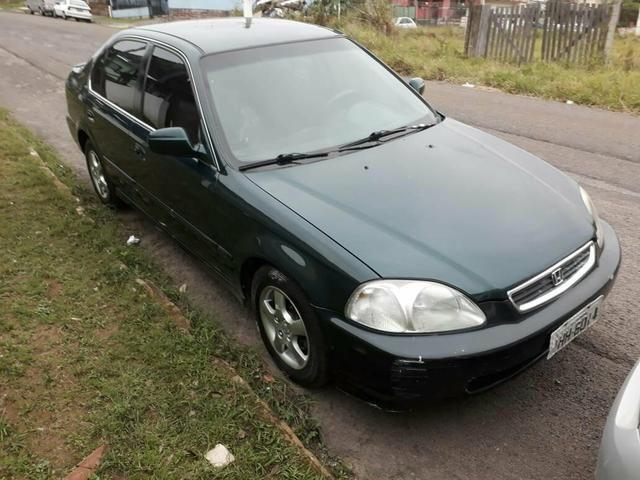 Honda Civic Lx 1998 Pra Levar R$ 9.000