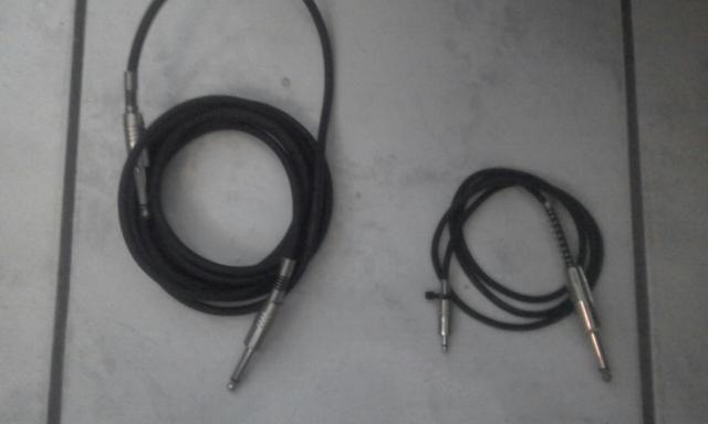 3 Cabos de Áudio