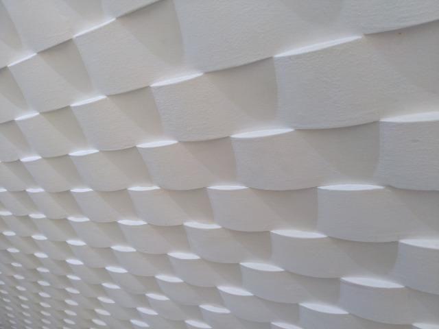 Revestimento 3D de gesso para parede - Foto 3
