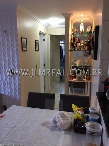 (Cod.:084 - Damas) - Mobiliado - Vendo Apartamento com 74m², 3 Quartos - Foto 9