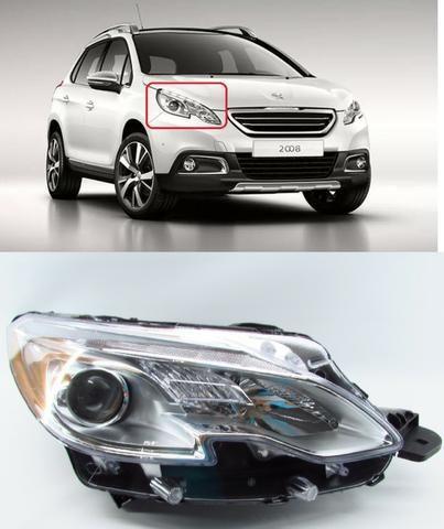 Farol Peugeot 2008 Direito 2013 2014 2015 2016 2017 Original