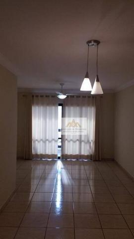 Apartamento com 3 dormitórios para alugar, 107 m² por r$ 1.300/mês - centro - ribeirão pre - Foto 3