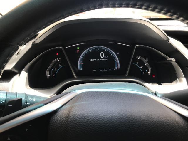 Vendo Honda Civic EXL G10 2017/17 Prata - muito novo / conservado - Foto 2