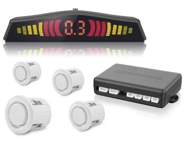Sensor de Estacionamento com 4 Pontos Branco,Prata ou Preto - Foto 2