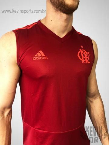 ... Camisa Regata Vermelha Treino 2018 Original Flamengo Adidas - Roupas  ... afe9954f755af9 ... 7ffd5f999188d