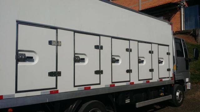 Bau Refrigerado Para Sorvete/sorveteiro -35º, Caminhão 3/4! - Foto 2