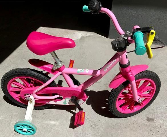 aa08348c97 Bicicleta infantil de equilíbrio Balance Bike feminina Aro 12 Btwin ...