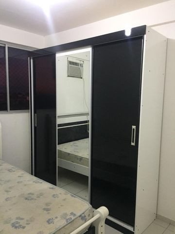 Apartamento Mobiliado 2/4 Cond. Carlos Wilson - Foto 17