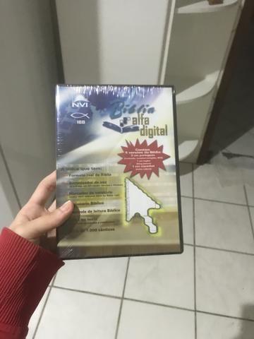Bíblia alfa digital (DVD com 5 versões da Bíblia)