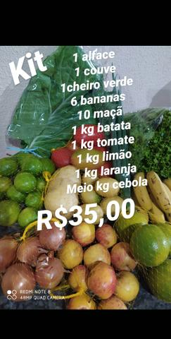 Delivery Frutas e verduras