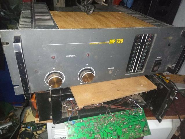 Amplificador Profissional Staner MP720 - Foto 2