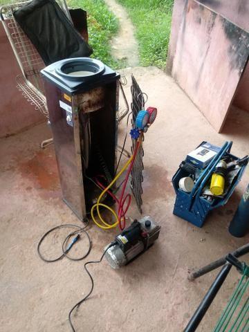 Consertamos geladeira freezer e central, tec. andré - Foto 4