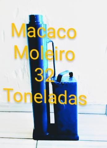 Macaco hidráulico tipo Moleiro 32 Toneladas - Foto 2