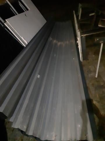 Ferro maciço Viga U.grosso placa zinco - Foto 3