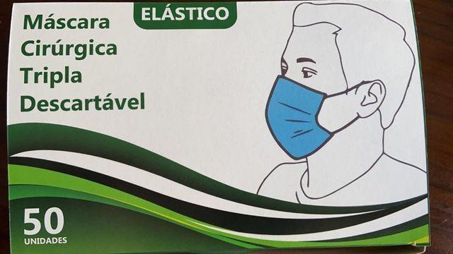 Máscara cirúrgica tecido triplo - Foto 3