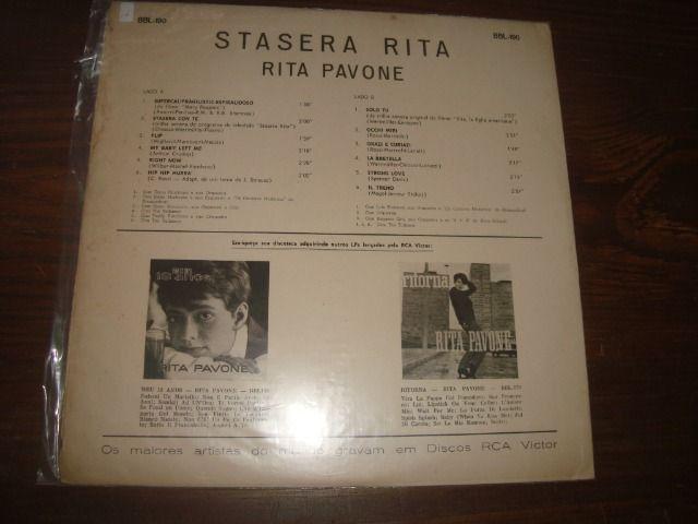 Rita Pavone, Stasera, Lp vinil usado em excelente conservação - Foto 2