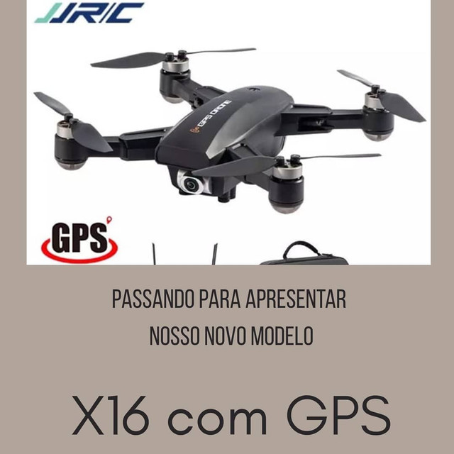 Drone X16 com GPS e Motores Brushless - Foto 2