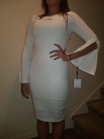 Vestido Calvin Klein Nunca Usado - Foto 2
