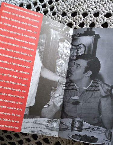 Livro Erasmo Carlos Minha Fama de Mau - Foto 4