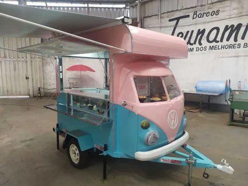 Trailler Kombi Food Truck Corujinha (sob Encomenda)<br><br>