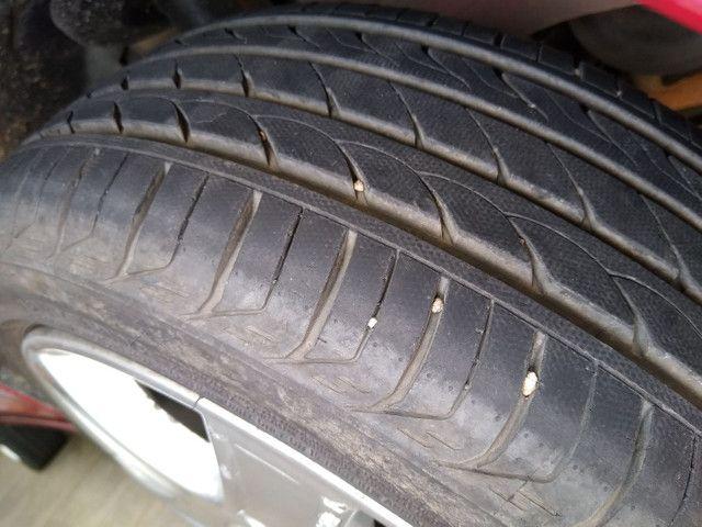 Roda Astra aro 15 GM 4x100 com pneu - Foto 5
