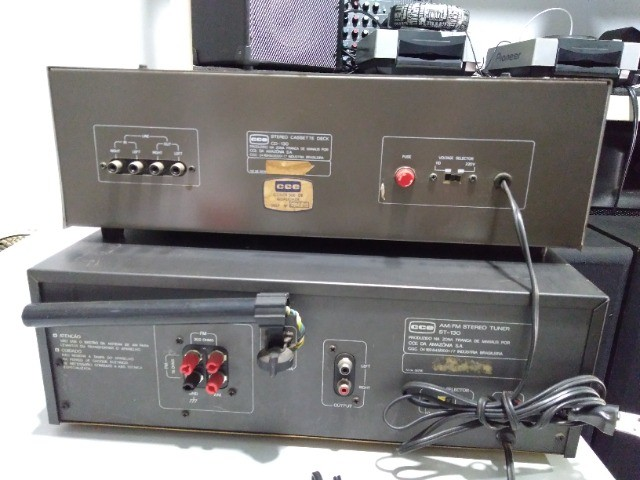 Tuner + tape deck cce - Foto 3