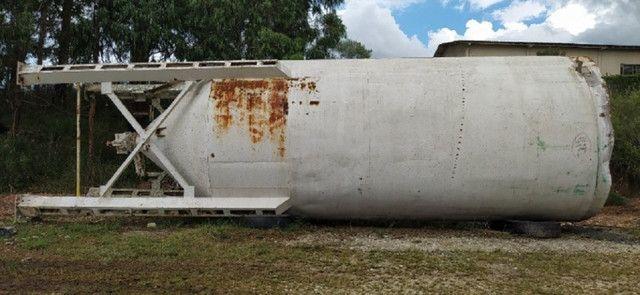 Silo Metálico para 100 ton - Para Cimento, Calcário e Outros Minerais - #8337 - Foto 2