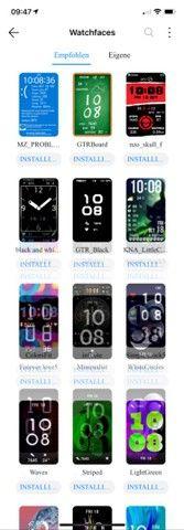 Huawei- versão global, com tela amoled de 1,64 polegadas, animações, oxigênio Lacrado - Foto 2