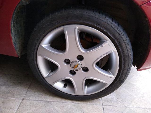 Roda Astra aro 15 GM 4x100 com pneu - Foto 4