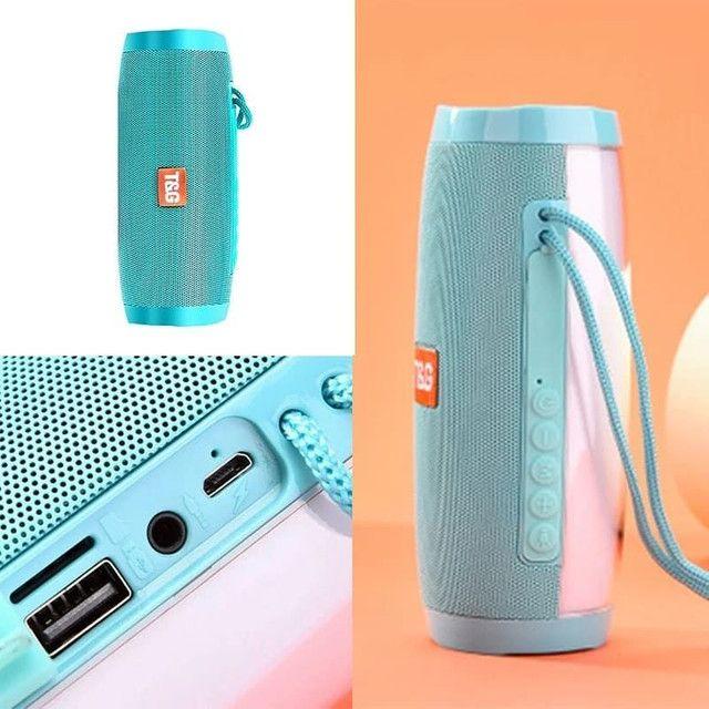 Caixa de som Bluetooth T&G Original - Foto 2