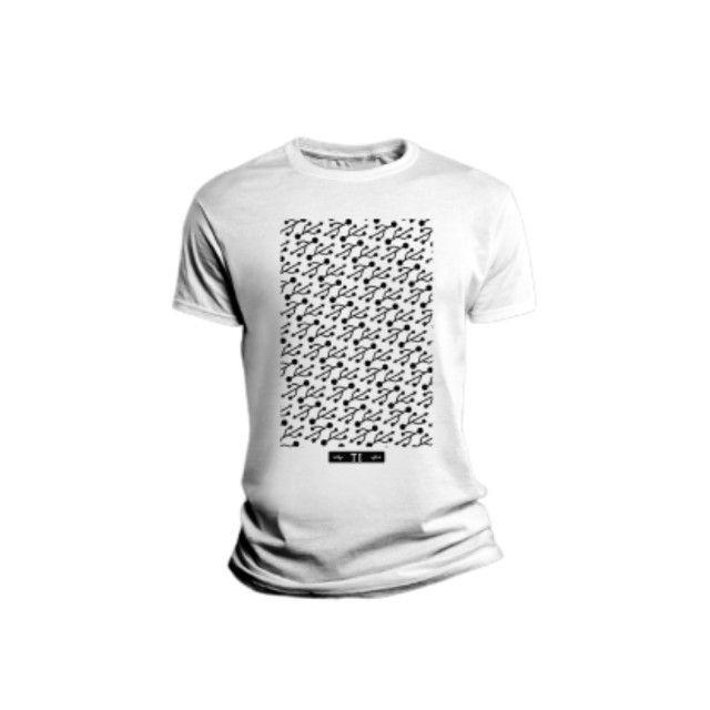 Camiseta Sublimada Frases E Estampas Legal E Confortável - Foto 3