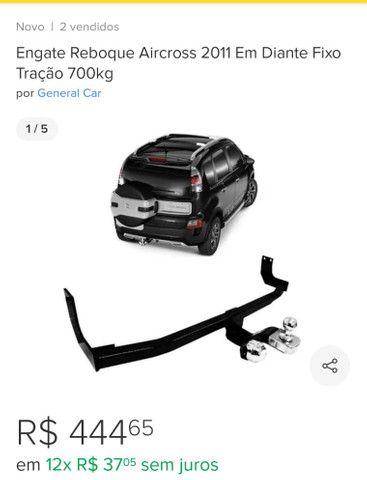 Engate para reboque modelo do carro Aircross. - Foto 3