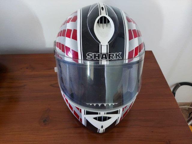Capacete Shark Rsr2 semi-novo tamanho 58 - Foto 3