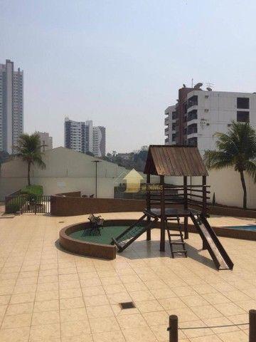 Apartamento com 3 dormitórios para alugar, 109 m² por R$ 2.000,00/mês - Quilombo - Cuiabá/ - Foto 18