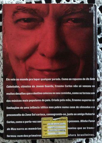 Livro Erasmo Carlos Minha Fama de Mau - Foto 2